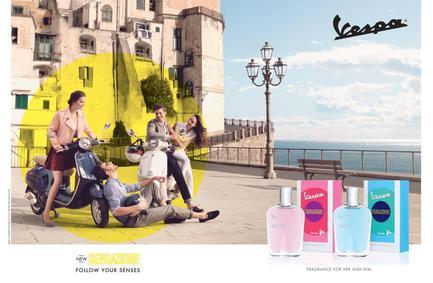 Постер Vespa Sensazione For Her