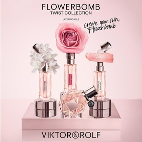 Постер Viktor&Rolf Flowerbomb Rose Twist