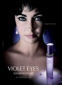 Постер Elizabeth Taylor Violet Eyes
