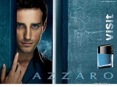 Постер Azzaro Visit for Men