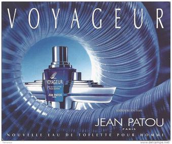 Постер Jean Patou Voyageur