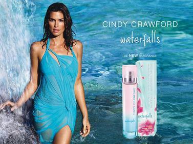 Постер Cindy Crawford Waterfalls