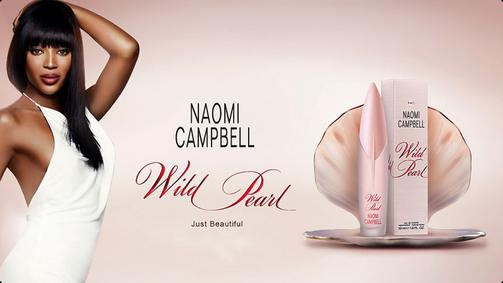 Постер Naomi Campbell Wild Pearl