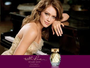 Постер Hilary Duff With Love