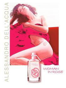 Постер Alessandro dell'Acqua Woman In Rose