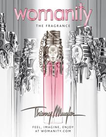 Постер Mugler Womanity