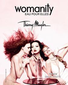 Постер Mugler Womanity Eau pour Elles