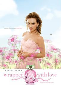 Постер Hilary Duff Wrapped With Love