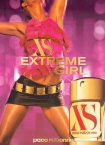 Постер Paco Rabanne Xs Extreme Girl