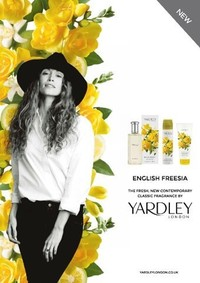 Постер Yardley English Freesia
