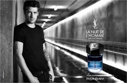Постер Yves Saint Laurent La Nuit De L'homme Eau électrique