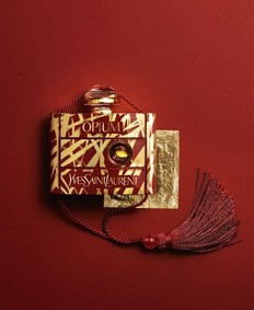Постер Yves Saint Laurent Opium 40th Anniversary Edition