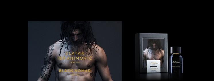 Постер Zlatan Ibrahimovic Parfums Black Nomad