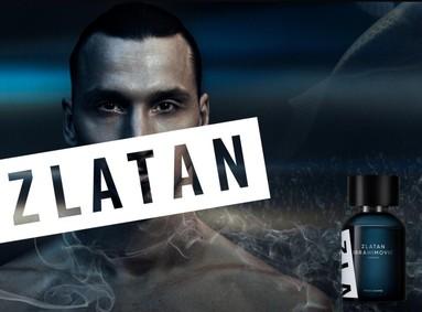 Постер Zlatan Ibrahimovic Parfums Zlatan Pour Homme
